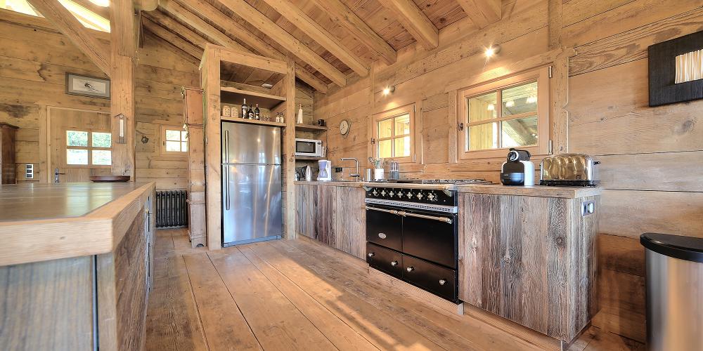 La cuisine / Kitchen – Le Chalet du Trappeur